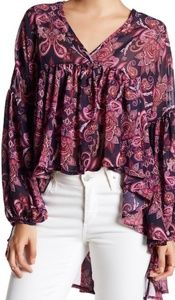 Romeo and Juliet Couture Boho Top